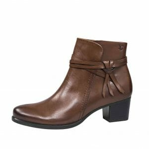 Caprice 9-25359-29 Dark Brown leather ankle boot