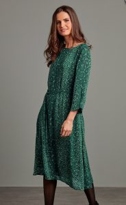 Adini Emmie dress - Tatania print emerald