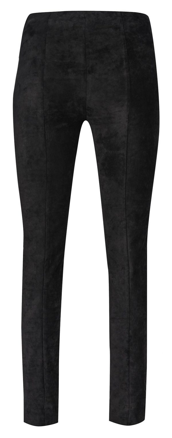 """Robell """"Rose"""" 51673 54451 full length 78cm faux suede trousers"""