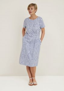 Adini Regency organic cotton jersey shift dress