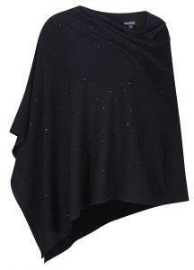 Marble 6314 cape with sparkle decoration